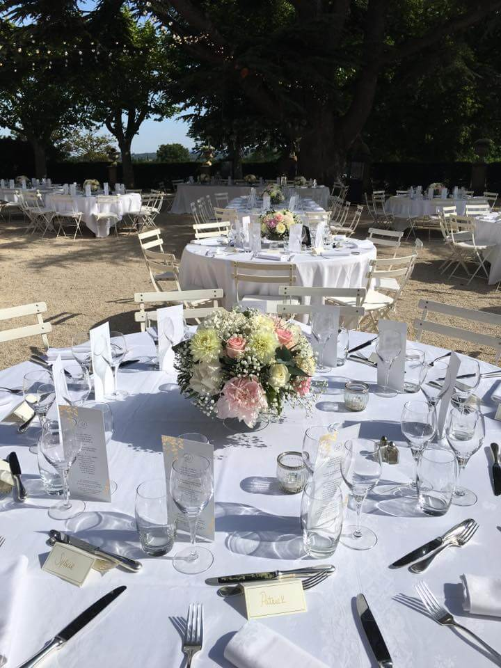 Traiteur Château d'Alphéran décoration mariage La Table de Charlotte Traiteur Pays d'Aix
