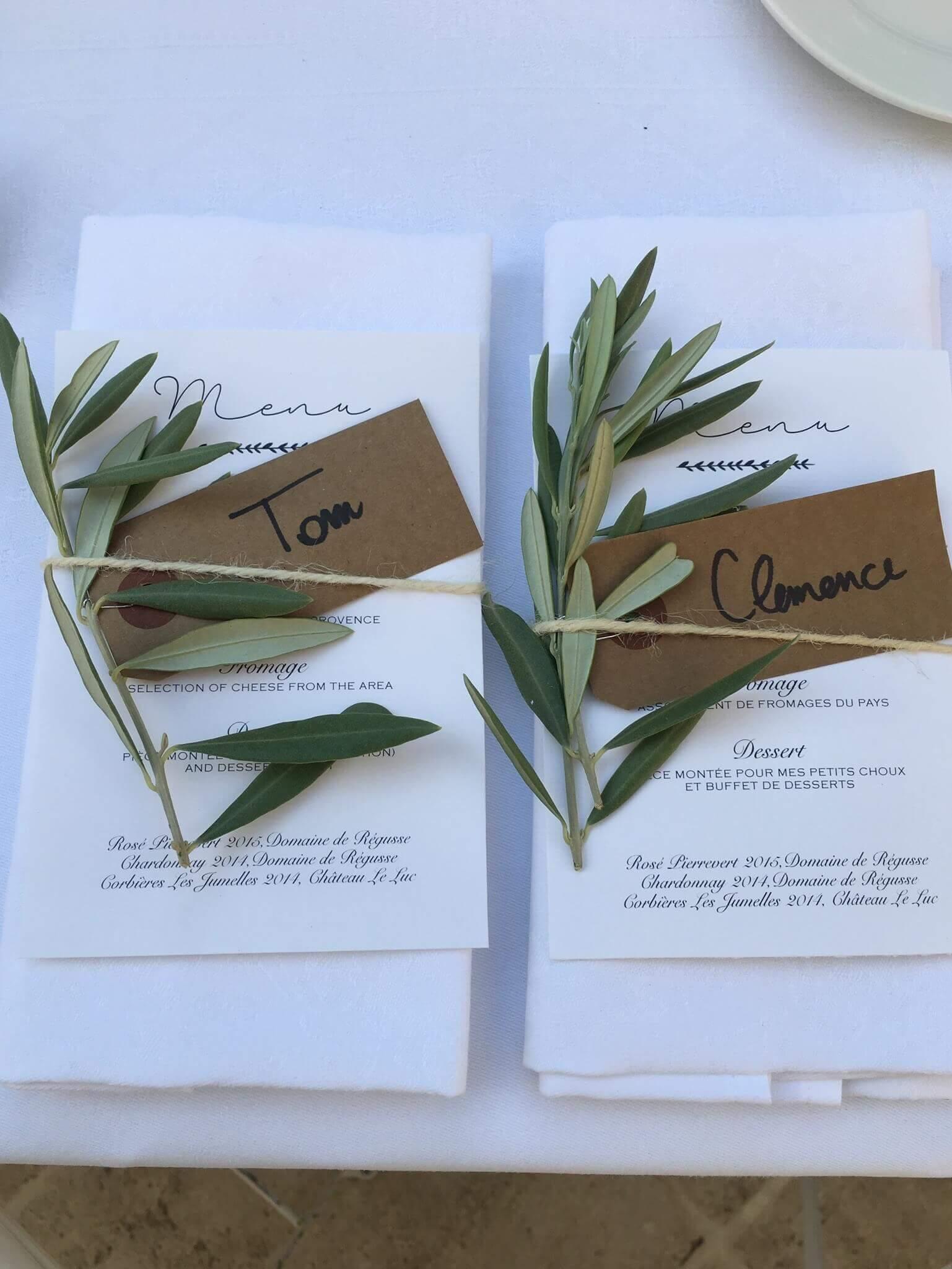 Mariage Aix-en-Provence La Table de Charlotte Traiteur
